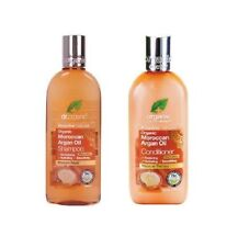 Dr Organic Moroccan Argan Oil Shampoo and Conditioner Combo 2x 265ml