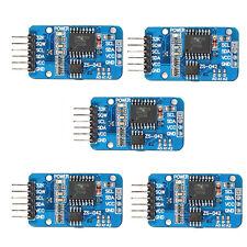 5x Real Time Clock RTC DS3231 AT24C32 Echtzeit-Uhrenmodul + Batterie für Arduino