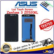TOUCH SCREEN VETRO LCD DISPLAY Per Asus Zenfone 3 ZE520KL Z017D Z017DA NERO