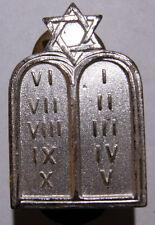 WW2 US Army *Jewish Chaplain* Officer's Collar Insignia - Rabbi