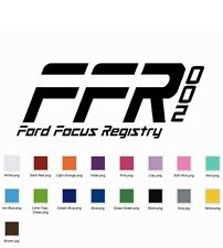 Ford Ford Registry Decal