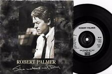 "ROBERT PALMER - SHE MAKES MY DAY - 7"" 45 VINYL RECORD w PICT SLV - 1988"