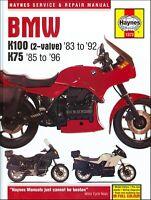 Haynes BMW K75, K100 1983-1996 Repair Service Manual