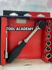 FACOM TOOLS J.360PACK 3/8 Twist Rotating Handle Ratchet & Sockets
