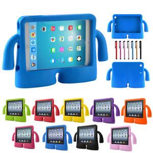 "Kids Shockproof iPad Case Cover EVA Foam Stand For iPad 10.2"" Mini 1234 Air2 9.7"