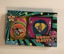 TOY Toddler GIRL 4 DISC MUSIC PLAYER 6 SONGS PER DISC 24 songs W/ Batteries