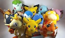 "Nintendo Pokemon Go Plush Doll Various Stuffed Animal Soft Toy 6-10"" Gift US"
