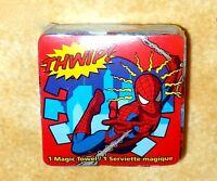 NEW Marvel spiderman Magic Towel RED