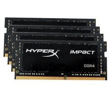 For HyperX Impact 16GB 4x4GB DDR4 2666Mhz PC4-21300 Laptop Memory RAM AR01MG