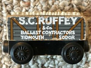 Wooden SCRUFFY S.C.RUFFEY Troublesome Truck 1999 Thomas and Friends used