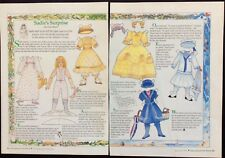 Sadie's Surprise Magazine Paper Doll,1992, By Chris Oleson, Uncut