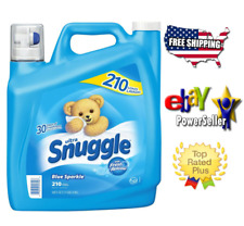Original- Snuggle Blue Sparkle Fabric Softener (168 oz., 210 loads)