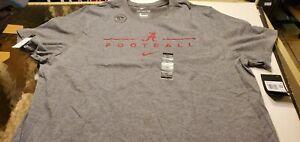 Alabama Crimson Tide NCAA Nike  Dri-fit football  shirt XXL