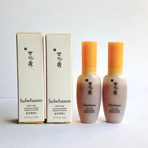 [US SELLER] 2 x SULWHASOO First Care Activating Serum Deluxe Sample 8ml each NIB