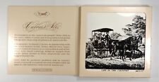 """Currier & Ives - Artile - Art Tile - """"Life In The Country - The Morning Ride"""""""