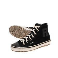 RRP €180 RUCOLINE Satin Sneakers Size 37 UK 4 US 7 Lace Shimmer Logo Details