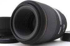 MINT Sigma EX Sigma EX 105mm F/2.8 D Macro Lens w/ Hood For Nikon F From JAPAN