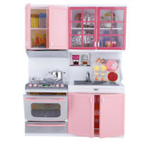 Childrens Kids Kitchen Cooking Role Play Pretend Cooker Game Set Xmas Gifts Toy