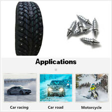 50 Pcs Anti Slip Screw Stud Wheel Tire Snow Nail Spike For Car Truck Motorcycles