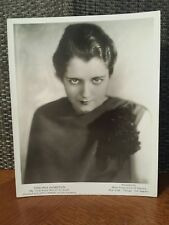 1933 Virginia Hamilton Featured With Jan Garber Mca Records 8x10 Glossy Photo