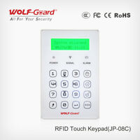 Wolf-Guard Wireless Keyboard Keypad RFID for Home GSM Alarm Security System