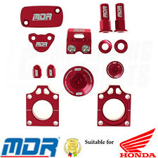 Honda FACTORY Bling Kit for Honda CRF 450R (02-08) CRF 450X (05-ON) Red