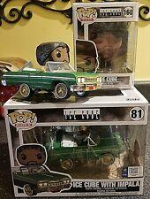Funko Pop! / Rocks Ice Cube & Rides Ice Cube in Impala / Complete Set / Mint