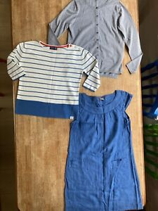 Womens Clothing Bundle Size 8 Jigsaw Joules Boden 3 Items Cotton Linen Dress Top