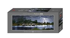 JIGSAW Heye Puzzles - Panorama , 2000 Pc - Herd of Elephants, Edition Humboldt