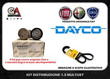 Kit cinghia servizi Fiat Punto (188) 1.3 jtd multijet dal 2003 originale o Dayco