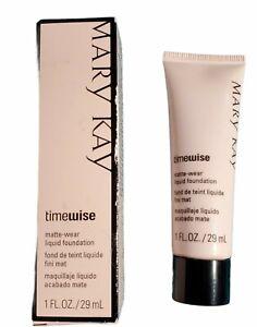 Mary Kay TimeWise Matte Wear Liquid Foundation 1 Fl Oz Ivory 3 038752
