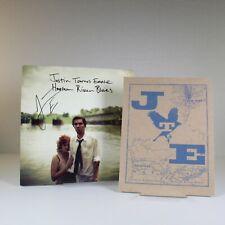 JUSTIN TOWNES EARLE Harlem River Blues, SIGNED LP, Limited Poster