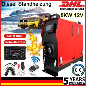 8KW 12V Diesel Auto Heizung Standheizung Luftheizung Air Heater LCD LKW PKW / DE