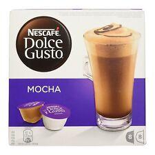 Dolce Gusto Café Mocha (3 Cajas, Total 48 cápsulas) 24 porciones