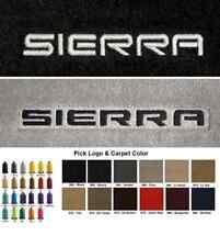 Lloyd Mats GMC Sierra Custom Velourtex Front Floor Mats (1999 & Up)