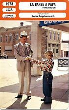 Fiche Cinéma Movie Card. La barbe à papa/Paper moon (USA) 1973 Peter Bogdanovich
