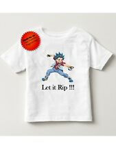 Beyblade Valt tshirt shirt let it rip toddler and boys sizes 2t/3t 4t/5t S M L X