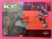 1998-99 Upper Deck ICE Mcdonalds #McD 1 Wayne Gretzky New York Rangers