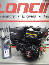 Loncin G120f-p 4hp Stationary Engine for Wacker Plate Replaces Honda Gx120