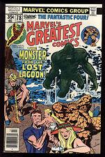 Marvel's Greatest Comics (1969) #78 1st Print  FF #97 Mark Jewelers Insert FN/VF