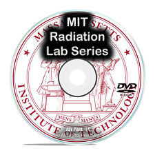 MIT Radiation Laboratory Series, Lab Study Research Papers 1947-1951 PDF DVD G81