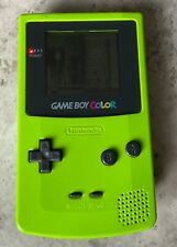 Nintendo Game Boy Color-Handheld System-Kiwi Lime-FWO