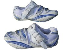NEW Shimano SH-WR61 SPDSL Women Road Bike Cycling Shoes EU 40 US 7.8 White Blue