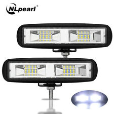 2x 6inch 48W Led Light Bar Offroad 4X4 ATV Car Spot Beam Led Work Light Fog Lamp