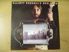 ELLIOTT RANDALL – ELLIOTT RANDALL'S NEW YORK VINYL LP US 1977 KIRSHNER PZ 34351
