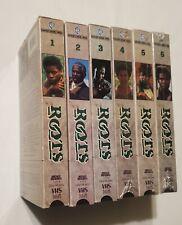Roots (VHS, 2001, 6-Tape Set, Six Tape Boxed Set)