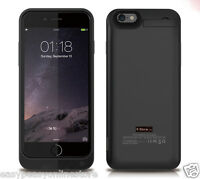 New Black Coloured Premium Iphone 6 6s 4.7 Power Bank Charger Case 5800mAh iOS10