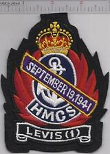 Canada Royal Canadian Navy RCN WWII HMCS Levis I K-115 Corvette Flower Class