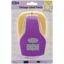 """""""Stacking Lever Punch-Vintage Labels, .75"""""""" To 2"""""""""""""""