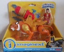 Imaginext Shazam & Tiger DC Super Friends Batman Fisher Price HTF